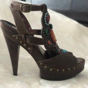 steve madden summer high heel shoes